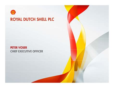 Socially Responsible Investors Presentation Royal Shell Ppt