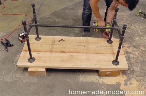 Dining Room Table Height by Homemade Modern Ep68 Pipe Coffee Table