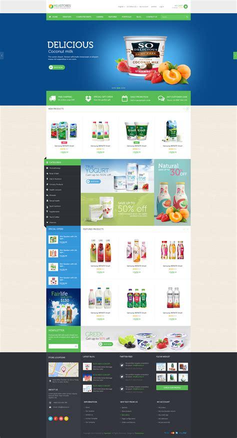 shopify themes themeforest leo milk store shopify theme by leo theme themeforest