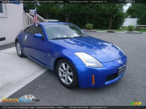 2005 nissan 350z coupe 2005 nissan 350z enthusiast coupe daytona blue metallic