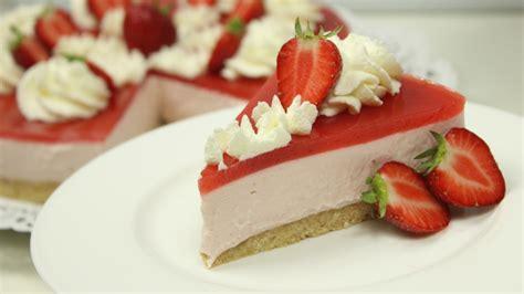 Cheesecake Rezept Erdbeer erdbeer cheesecake mit erdbeerspiegel gewinnspiel