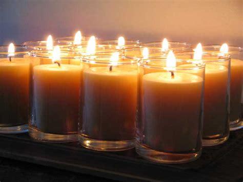 burning tea lights bulk santa fe beeswax candle co standard votive tea light