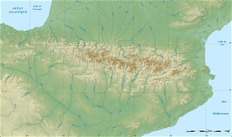 pyrenees mountains map image gallery pyrenees map