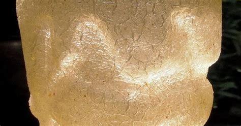 Batu Pecahan Seribu patina antik wadah es batu kaca retak seribu