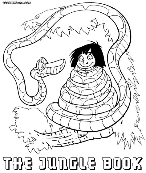 Jungle Book Coloring Pages Coloring Pages To Download The Colouring Book