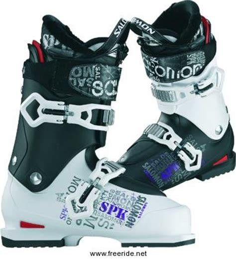 ski boot review for the salomon spk chaos