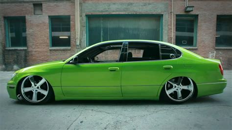 custom lexus gs300 lexus gs300 custom viper green