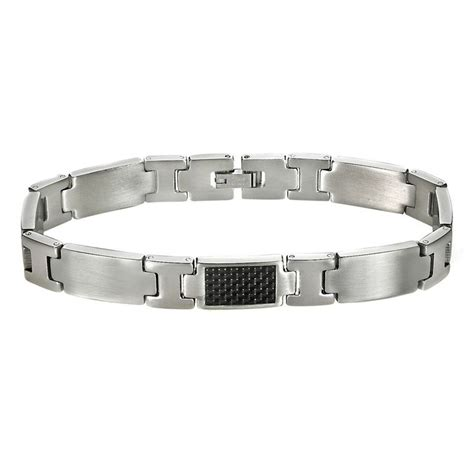 Carbon Fiber Stainless Steel stainless steel carbon fiber bracelet
