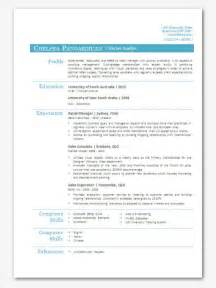 modern word resume templates modern microsoft word resume template chelsea by inkpower