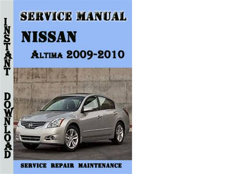 2009 Nissan Altima Manual by Downloads By Tradebit De Es It
