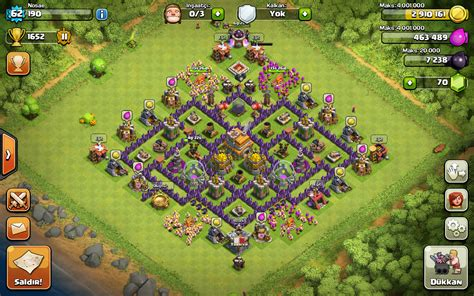 coc layout hybrid level 7 town hall defense hybrid www imgkid com the