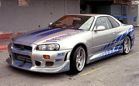 nissan gtr skyline fast and furious nissan skyline gtr r34 fast and furious 110 mobmasker