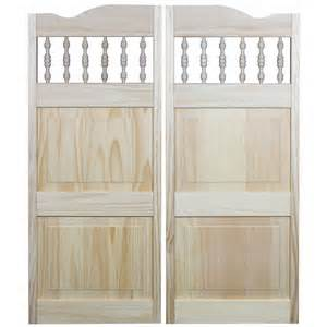 Interior Cafe Doors Shop Pinecroft Royal Orleans Solid 2 Panel Square