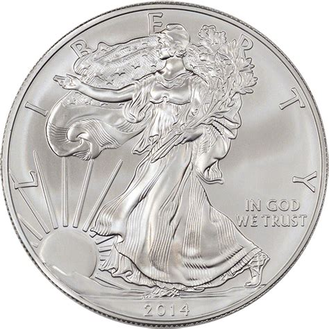 1 Oz Silver American Eagle Box 500 Coins - 2014 american silver eagle 1 oz 1 sealed 500 coin
