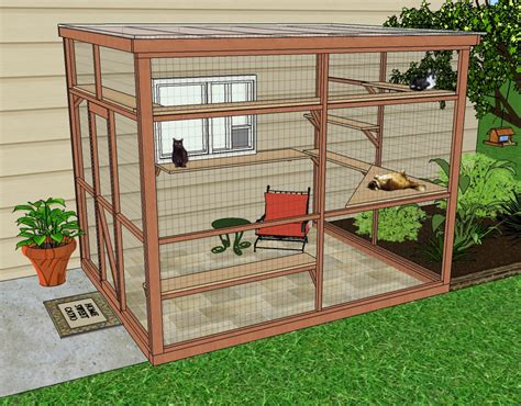cat enclosures diy catio spaces helps cat owners build safe outdoor havens