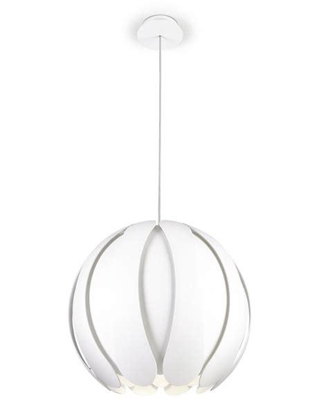 white flower pendant light metal closed flower pendant light