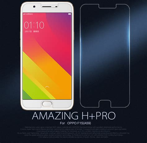 Tempered Glass Oppo F1s Merk Lgt nillkin amazing h pro tempered glass screen protector for oppo f1s a59