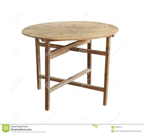 vintage folding table vintage folding table stock images image 34285774