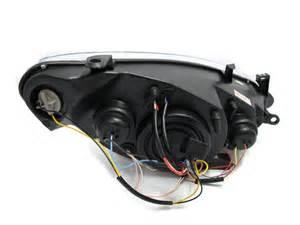Peugeot 307 Headlights Not Working 307 2001 2008 3 5d Ccfl Eye Fog Projector Headlight