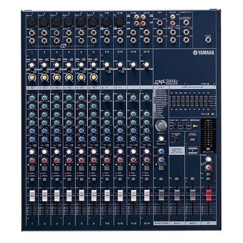 Yamaha Mixer Powered Mxer Emx5014c Emx 5014c Original yamaha emx5014c powered mixer 2x500 watts zzounds reverb