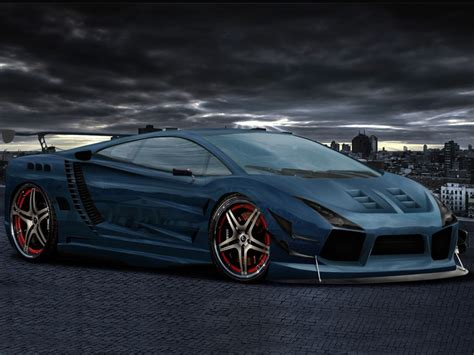 Auto Tuning 3d by Autos Tuning Lamborghini Gallardo 3d Wallpaper