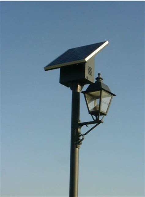 solar powered light post solar powered outdoor l post light jr villa p view