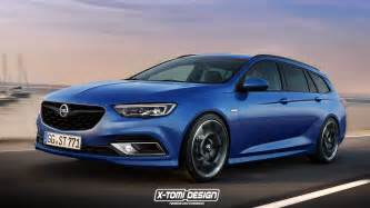 Opel Sport 2018 Opel Insignia Opc Rendered In Sports Tourer Form