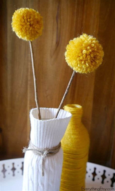 Diy Vase Decor by Diy Sweater Vase Easy Home Decor