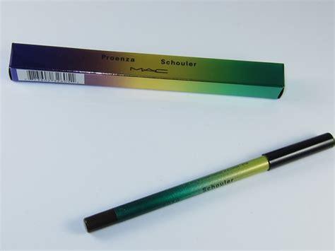 Mac Pro Longwear Eyeliner Proenza mac rich experience pro longwear eyeliner review