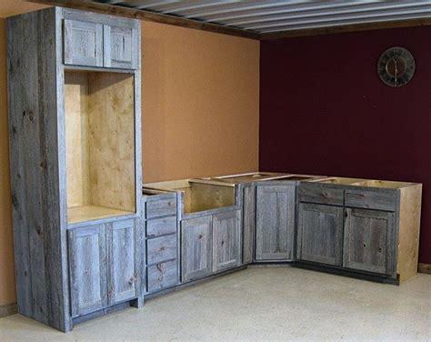 barn wood kitchen cabinets weathered gray barn wood kitchen barn wood furniture