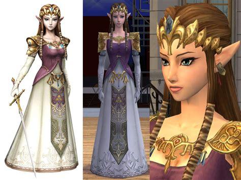sims 3 princess hair mod the sims princess zelda sim dress and hair