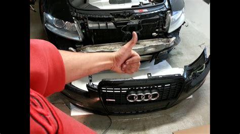 Audi A4 B5 Sto Stange Vorne Abbauen by Audi A6 4f Frontsto 223 Stange Einbauen Ausbauen