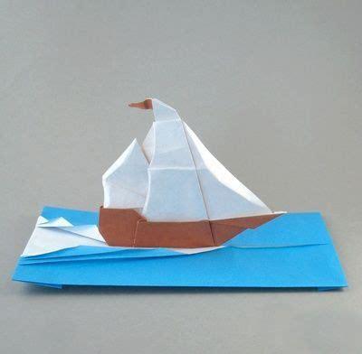 origami love boat origami sailboat fold and cut origami sailboat