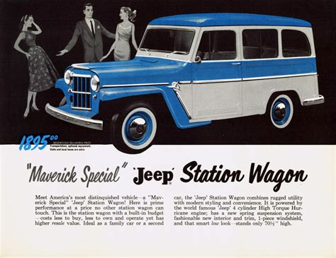 jeep station wagon 4wd madness 10 classic jeep ads the daily drive