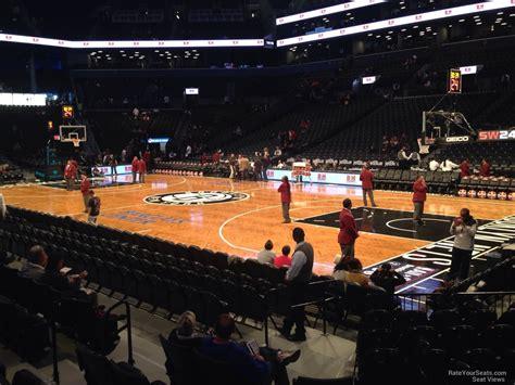 barclays center section 7 barclays center section 20 brooklyn nets rateyourseats com