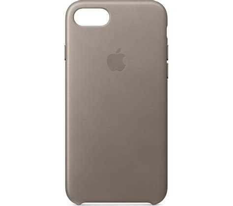 Promo Leather Iphone 8 apple mqh62zm a iphone 8 7 leather taupe deals pc world
