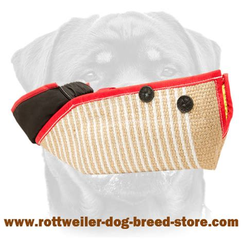 how strong is a rottweilers bite jute bite half sleeve inner handle rottweiler puppy