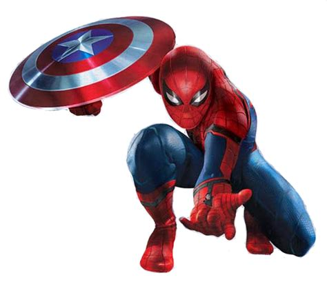 imagenes spiderman jpg image captain america civil war promoart spiderman jpg
