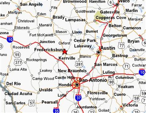map of fredericksburg texas map by mapquest our town fredericksburg tx maps