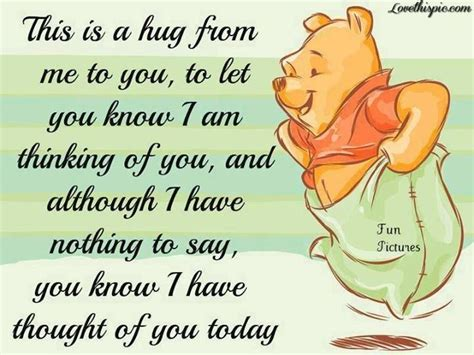 Thinking Of You Quotes Thought Of You Quotes Quote Disney Winnie The Pooh