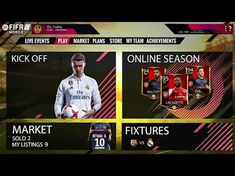 how to make itz card fifa 18 mobile reveal trailer made by me how to make