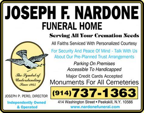 nardone joseph f funeral home peekskill ny 10566