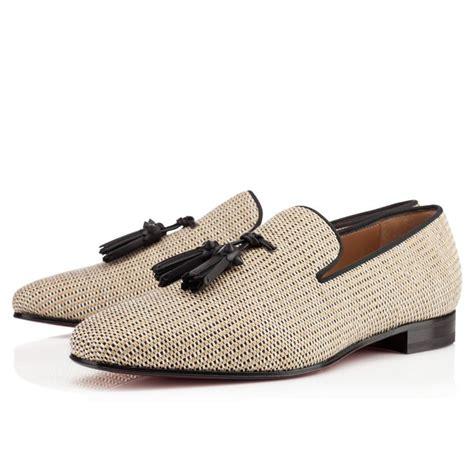 C136 Beige chaussure louboutin homme beige