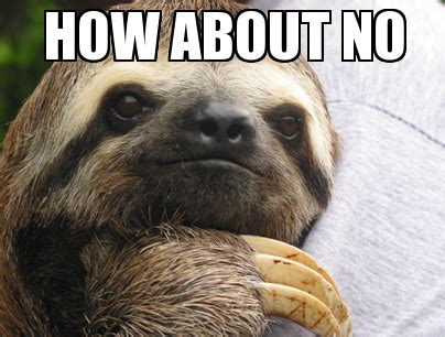 Sloth Meme Generator - sloths with captions memes