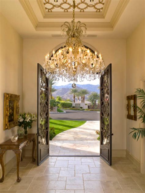 beautiful design ideas tuscan home decor for hall kitchen 20 stunning entryways and front door designs hgtv