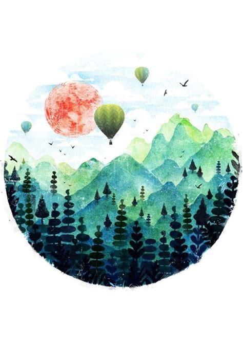 imagenes tumblr watercolor watercolor scenery tumblr