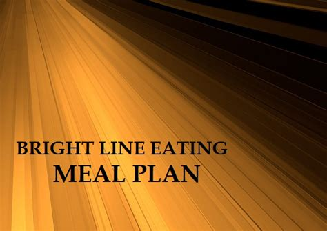 bright line bright line cookbook and easy bright line recipes volume 1 books bright line meal plan recipes a downloadable