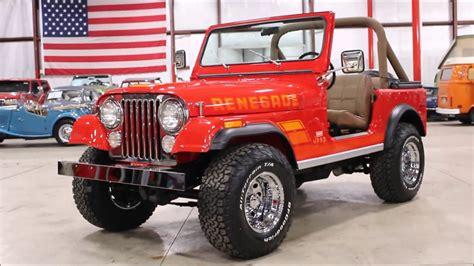 jeep cj renegade 1977 jeep cj 7 renegade