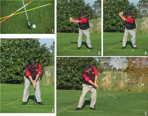 full swing golf drills the 45 degree stick golf drill golf tips magazine