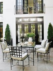Stucco Outdoor Kitchen - things that inspire outdoor dining rooms narrow black french doors and juliet balcony gorgeous